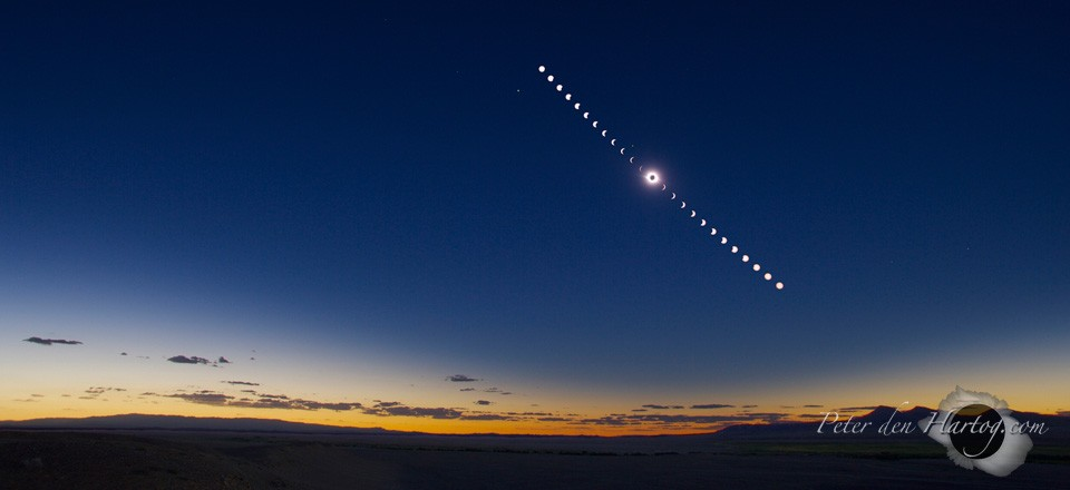 Mongolian eclipse sequence slide